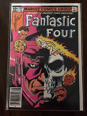 Fantastic Four John Byrne collection - 253,254,255,256,257 - great condition !!