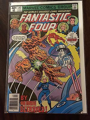 Fantastic Four John Byrne collection - 213,214,215,216,217  - great condition !!