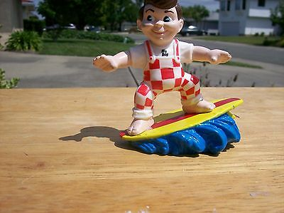 Vintage 1990 Bob Big Boy on a Surfboard Figurine by Eias Brothers Restaurant