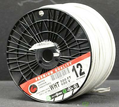 United Copper Industries #325363 500' THHN THWN-2 12 AWG Stranded Copper Wire
