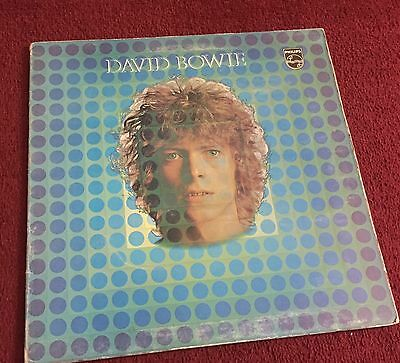 David Bowie Very Rare Philips Dutch Pressing 1969 Space Oddity LP
