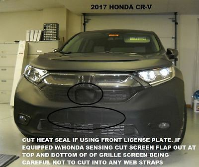 Lebra Front End Mask Cover Bra Fits HONDA CR-V CRV 2017 17