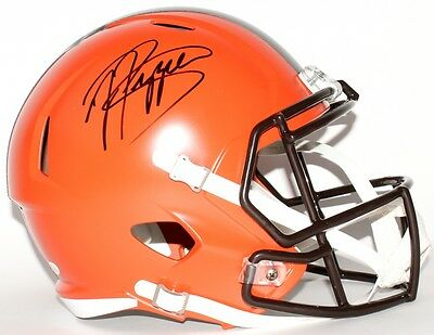 JABRILL PEPPERS AUTOGRAPHED BROWNS F/S HELMET with JSA WITNESSED COA #WP510614