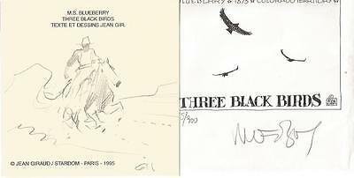 J.Giraud / Moebius Dedicace - Portfolio Blueberry Three Black Birds - Stardom