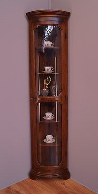 1860 !! Superb Corner Display Cabinet/bookcase In French Style !!