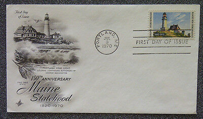 FDC - 150TH ANNIVERSARY Maine Statehood 1820 - 1970