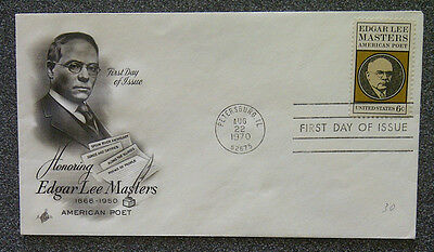 FDC - Honoring Edgar Lee Masters
