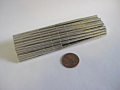 Neodymium 3mm x 10mm Cylinder Magnets N35, New, Very Strong! -50 or 100 pcs-
