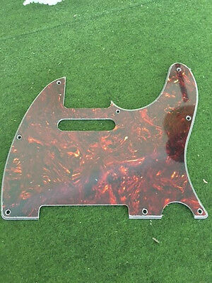 AKTION Telecaster Pickguard dark brown tortoise