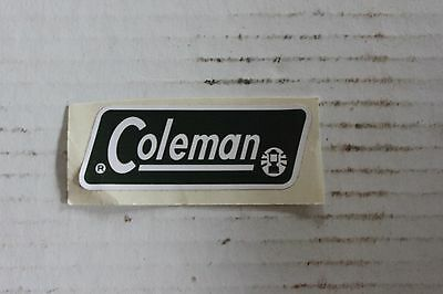 Coleman Olive Green Cooler Jug Decal  *liquidation*