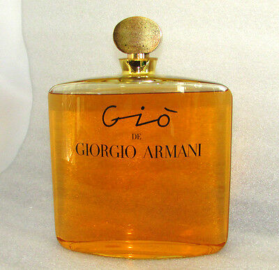 "Vintage Gio De Giorgio Armani Store Display Factice Perfume Bottle Rare 11"" Tall"