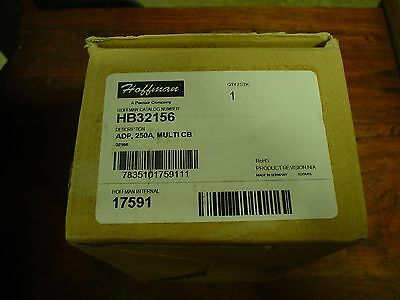 Qty 1 Hoffman HB32156 ADP 250A Multi CB  - NIB - 60 day warranty