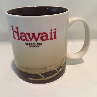 Starbucks coffee mug HAWAII Brown interior Outrigger 2011 16 oz