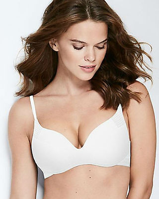 35f7c671d169f Wonderbra Minimal Chic Wire Free Padded Push Up Bra White W030I New Lingerie