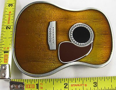 Classical Country Guitar Body Metal Belt Buckle B69