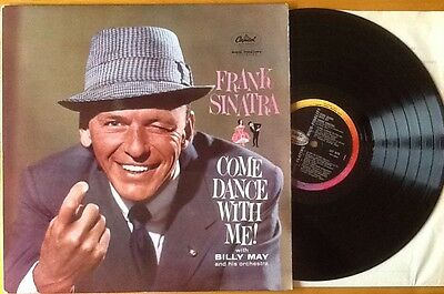 FRANK SINATRA Come Dance With Me LP VINYL UK Capitol 1ST ISSUE VGC