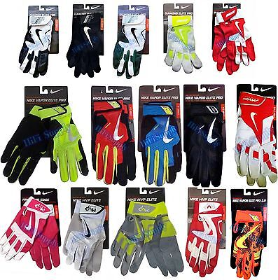 Nike Adult Baseball Batting Gloves Vapor Elite Pro, Diamond Elite Pro, MVP Elite