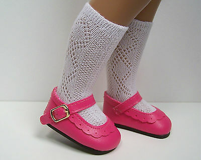"DK Dark Debs PINK Classic Doll Shoes For 16/""- 17/"" Sasha"