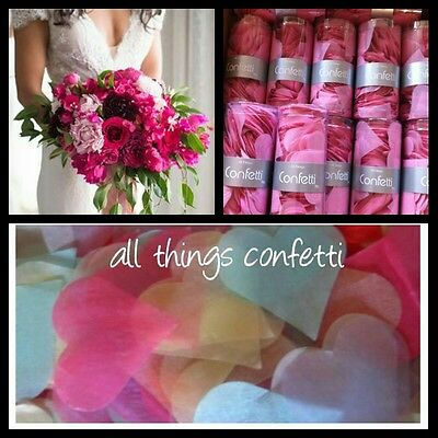 Heart Confetti - Table Scatters...   Wedding, Decoration(AUSSIE MADE)-
