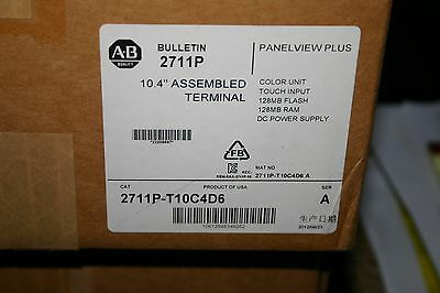 Allen Bradley 2711P-T10C4D6 HMI Panelview PLUS   new in Sealed box never opned