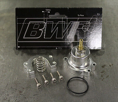 BLACKWORKS BWR EXTERNAL AEROMOTIVE FPR FIREWALL BRACKET FUEL PRESSURE REGULATOR