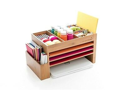 Timber/Wood Desk & Kitchen Caddy and Charging Station From Australia!