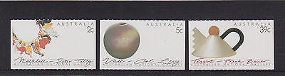 Australia 1988 : Australian Craft - Set of 3 booklet Stamps, MNH