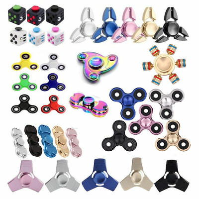 Fidget Hand Spinner Finger Toys EDC Focus Stress Reliever For Kids Adults