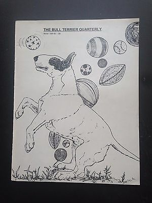 Vintage Canine Collectibles Magazine -Winter 1989-90 The Bull Terrier Quarterly