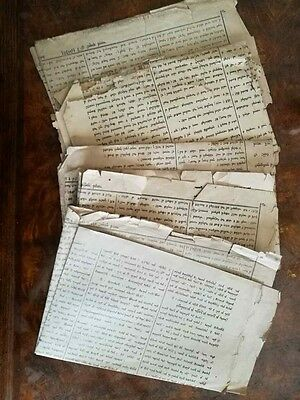 Antique Mongolian Uighur printed Newspapers MISSING PAGES