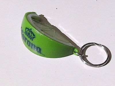 NEW Corona Extra Green Lime Wedge Beer Bottle Cerveza Opener bar Key Chain sign