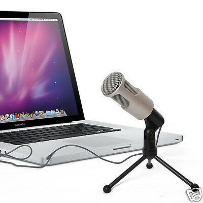 2017 Professional SF-960 3.5mm Condenser Microphone Mic for Laptop Notebook PC