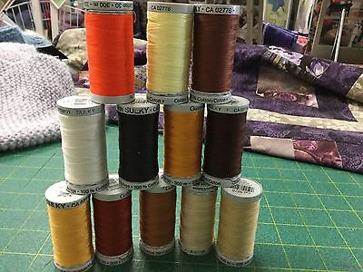 Guterman threads- Cotton 30- 12 reels as photo (lot1)