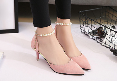 High - heeled sandals female new summer beaded women 's shoes with thin shoes