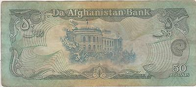 Afghanistan 1990's 50 Afghanis Foreign world paper currency