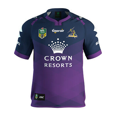 Melbourne Storm NRL 2017 Home ISC Jersey Toddlers Sizes 1 ONLY!