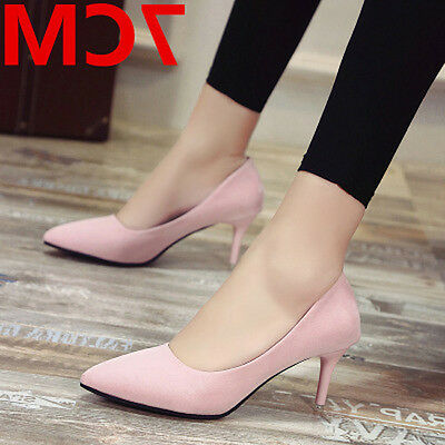 Fashion pointy high-heeled shoes Thin and shallow women's shoes wedding shoes