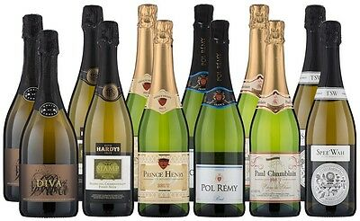 Get Some Sparkle~French and Aussie Bubbles Mixed Pack (12 x 750mL)