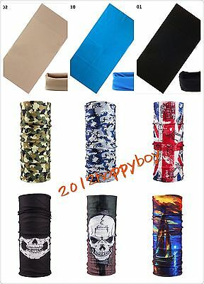Unisex Scarf Tube Bandana Head Face Mask Neck Gaiter Snood Headwear Beanie Magic