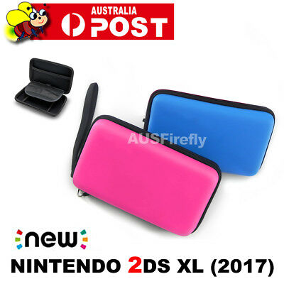 Black Airform Game Hard Case Pouch Bag For New Nintendo 2DS XL/LL Console 2017