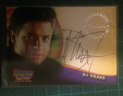 "2003 Looney Tunes Movie Auto #a1: Brendan Fraser - Autograph ""the Mummy/crash"""