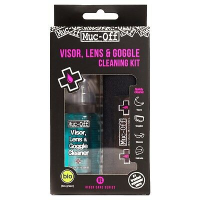 Muc-Off Visor Lens And Goggle Cleaning Kit