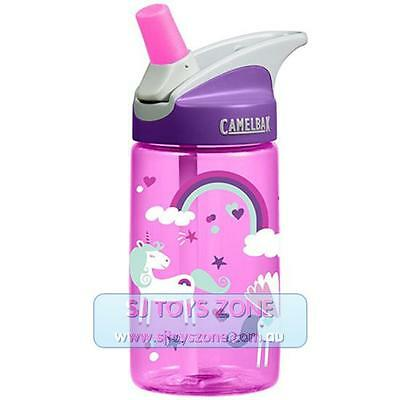 CamelBak Eddy Kids BPA Free Child Safe 400ml Water Bottle - Unicorns