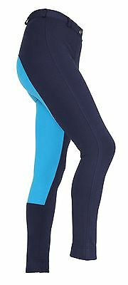 Ladies Two Tone Wessex Jodhpurs Horse Riding Yard Stable Clothing Trousers
