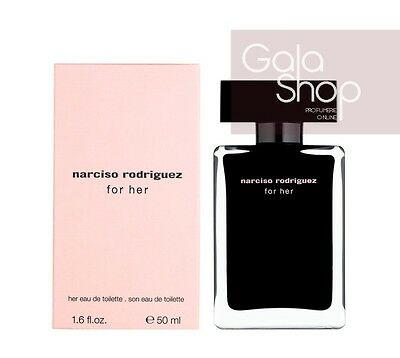 Narciso Rodriguez For Her Eau De Toilette 50Ml Profumo Donna Edt Natural Spray