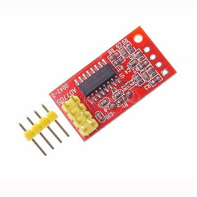 AD7705 TM7705 Dual Channel 16-Bit ADC Data Acquisition Module SPI DC 3.3/5V