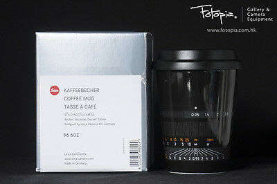 Brand New Leica Coffee Mug - Noctilux-M 50 - 96602 (Black)