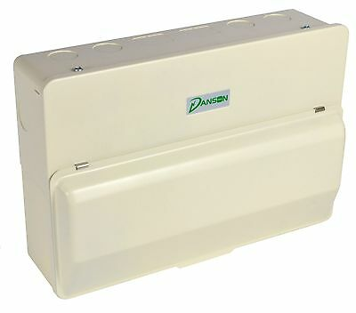 Amendment 3 Metal Consumer Unit Dual 63a RCD, 100a Main Switch & 10 MCBs