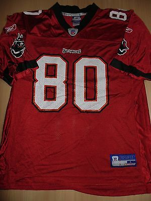 Tampa Bay Buccaneers NFL American football jersey / shirt Large Mens CLAYTON 80