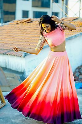 Bollywood Indian Party Wear Lehenga Lengha Choli Wedding Saree Pakistani Lehenga
